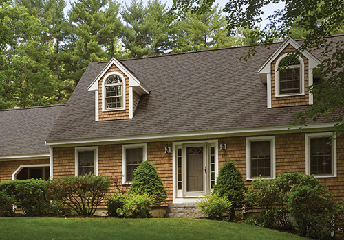A-House-With-Brown-Laminated-Shingles